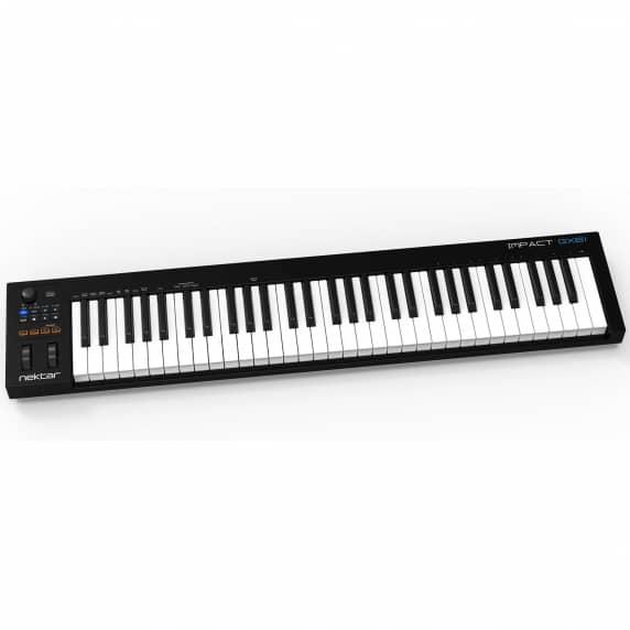 Nektar Impact GX61 USB MIDI Keyboard Controller