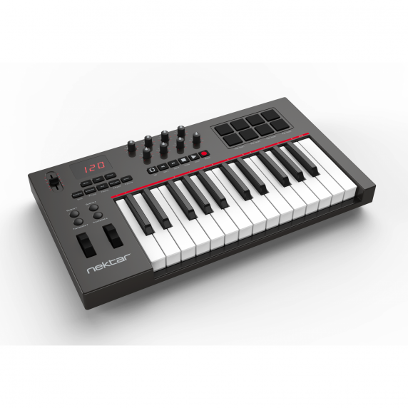 Nektar Impact LX25 USB Keyboard With DAW Control