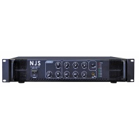 NJS 402 - 250 Watt 100V Line 6 Channel Mixer Amp