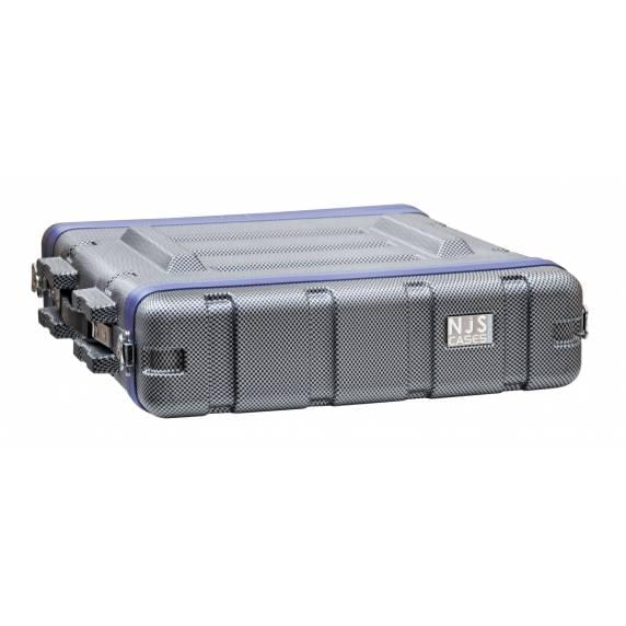 NJS ABS Heavy Duty Rack Case 2U