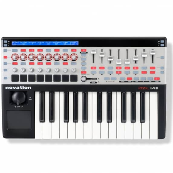 Novation 25 SL MKII USB Midi Controller