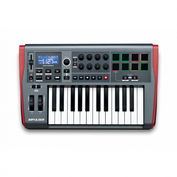 Novation Impulse 25 Precision USB Keyboard Controller