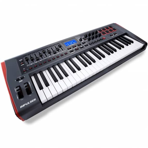Novation Impulse 49 Precision USB Keyboard Controller