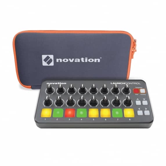 Novation Launch Control Surface & Sleeve Cover Bundle