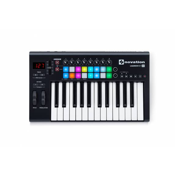 Novation Launchkey 25 MK2 - MIDI Keyboard Controller