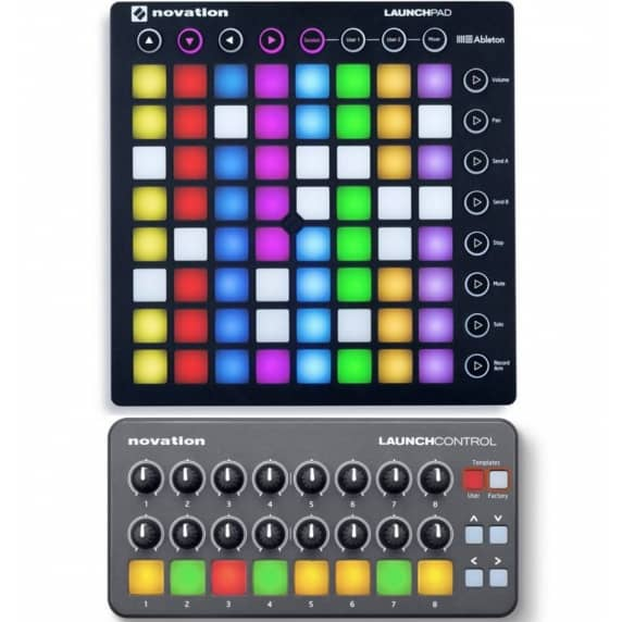 Novation Launchpad MK2 and Novation Launch Control Bundle