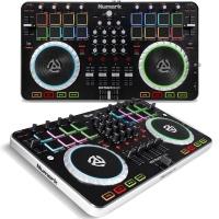 Numark Mixtrack Quad 4-Channel DJ Controller With Audio I/O