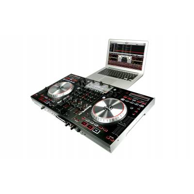 numark ns6 4 channel digital dj controller mixer. Black Bedroom Furniture Sets. Home Design Ideas