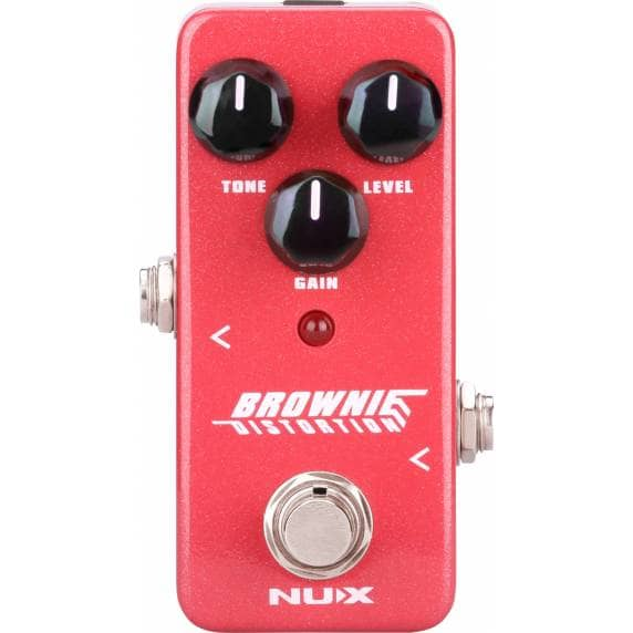 NUX Brownie Distortion Guitar Pedal