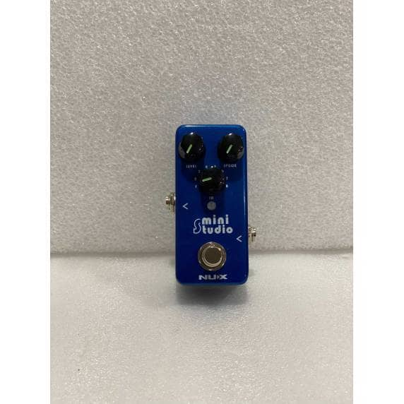 Nux Mini Studio Guitar Effects Pedal - NSS-3 (B-Stock)