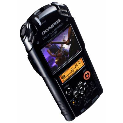 Olympus Ls-20m Portable Audio  U0026 Hd Video Recorder