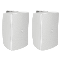 "Pair of Inter-M WS50T-WK 5"" Full Range 50W Wall Speakers (White)"