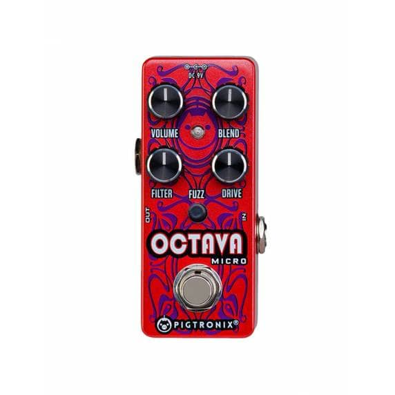 Pigtronix Octava Micro - Analog Octave up and Fuzz pedal