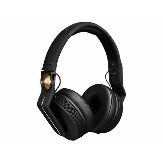 Pioneer HDJ700 Pro DJ 40mm Headphones with Rotating Arm Gold