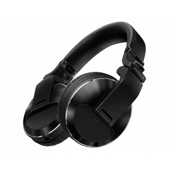 Pioneer HDJX10K Pro DJ 50mm Headphones with Swivel Ear Black
