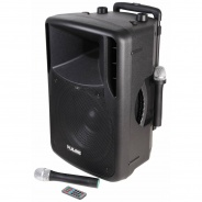 Portable APS12PA System - Mains or Battery with 2 Mics - FM & Bluetooth Ready