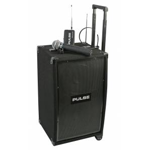 Portable PA System 50W with Wireless Microphones