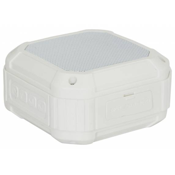 Portable Water Resistant Bluetooth Speaker - White