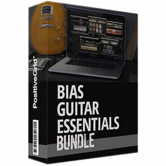 Positive Grid BIAS Guitar Essentials Bundle (Serial Download)