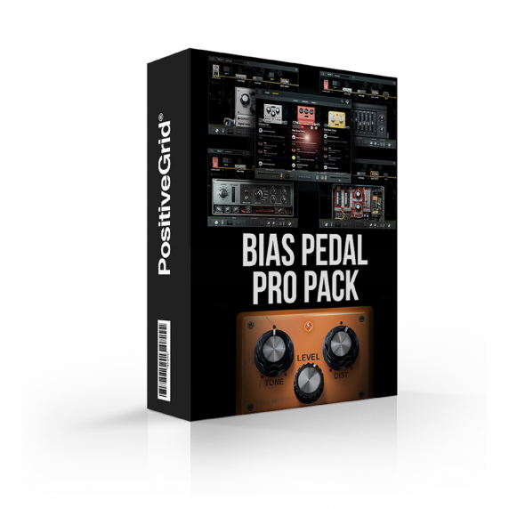 Positive Grid BIAS Pedal Pro Pack (Serial Download)