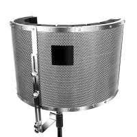 Inta Audio Premium Adjustable Vocal Booth for Singers/Vocalists
