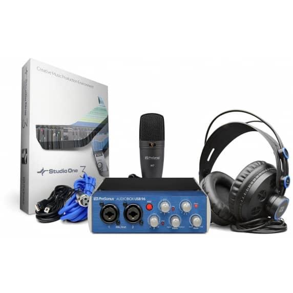 presonus audiobox usb 96 studio recording package presonus from inta audio uk. Black Bedroom Furniture Sets. Home Design Ideas
