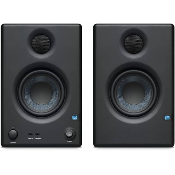 Presonus Eris E3.5 Studio Monitor Speakers (Pair) & Inta Audio Mug / Mousemat