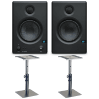Presonus Eris E4.5 Active Studio Monitors with Desktop Stands Bundle