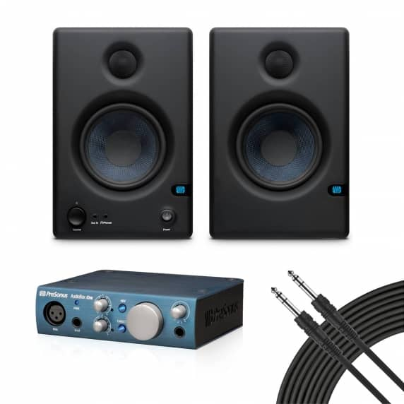 PreSonus Eris E4.5 + Audiobox iOne Studio Kit