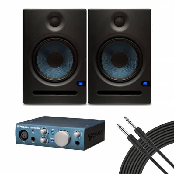 PreSonus Eris E5 + Audiobox iOne Studio Kit