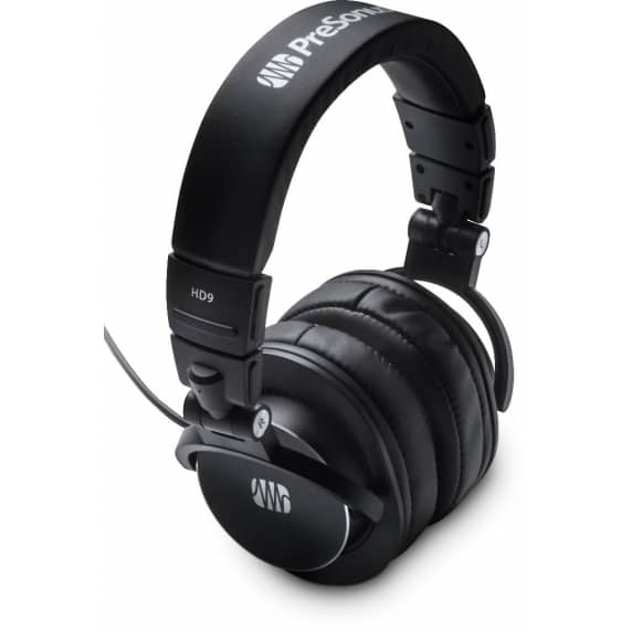 PreSonus HD9 Professional Closed Back Headphones