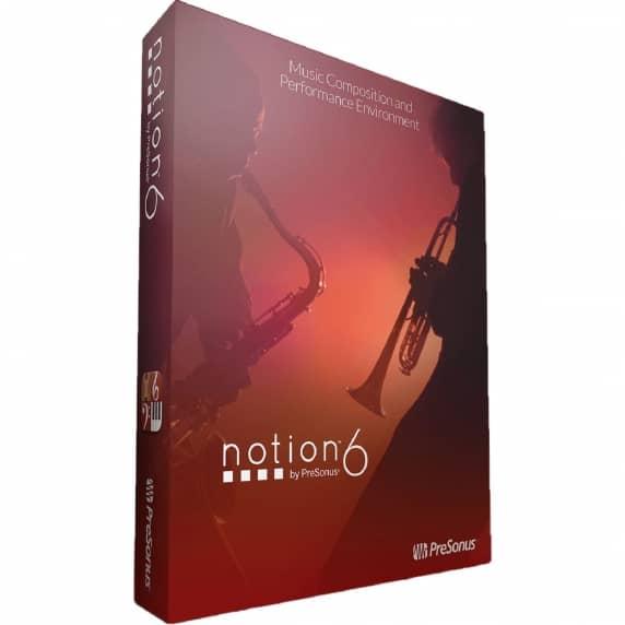 Presonus Notion 6 - Composition Software (Serial Download)