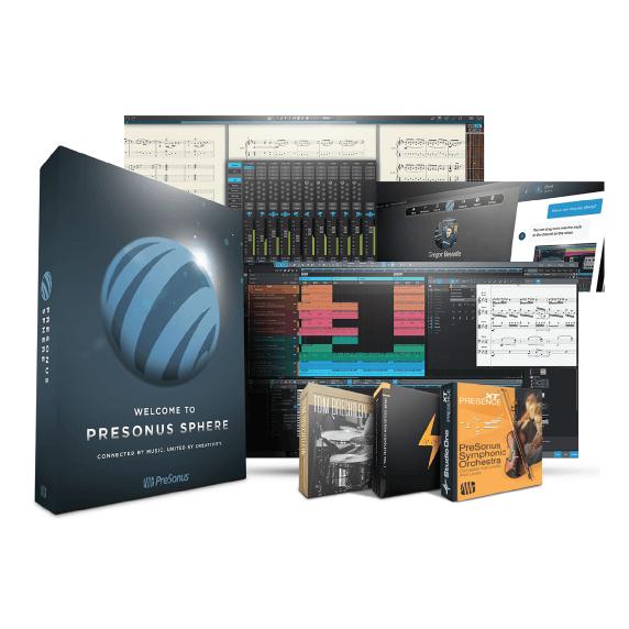 PreSonus Sphere - Studio One & Notion ANNUAL Membership