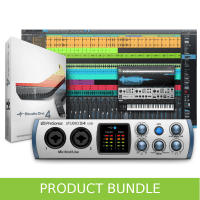 Presonus Studio 2|4 USB & Studio One Pro 4 Bundle