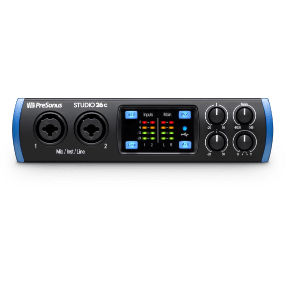 Presonus Studio 26C USB 2.0 Audio Interface