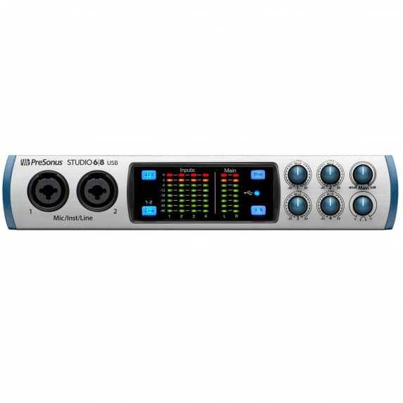 Presonus Studio 68 USB 2.0 Audio Interface