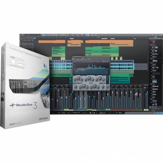 PreSonus Studio One 3 Pro - Crossgrade from DAW (Serial Download)