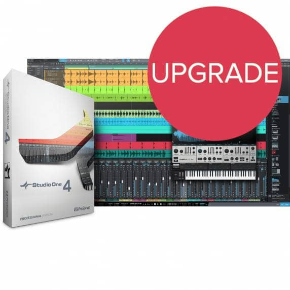 PreSonus Studio One 4.5 Pro UPG from Pro 2-3 - EDU (Serial Download)