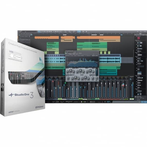 PreSonus Studio One Pro 3 Upgrade from Artist 3 (Serial Download)