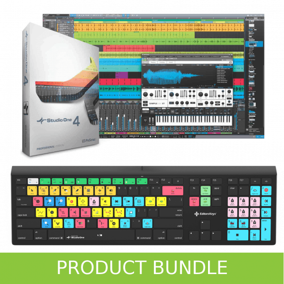 PreSonus Studio One Pro 4.6 & Editors Keys Bundle