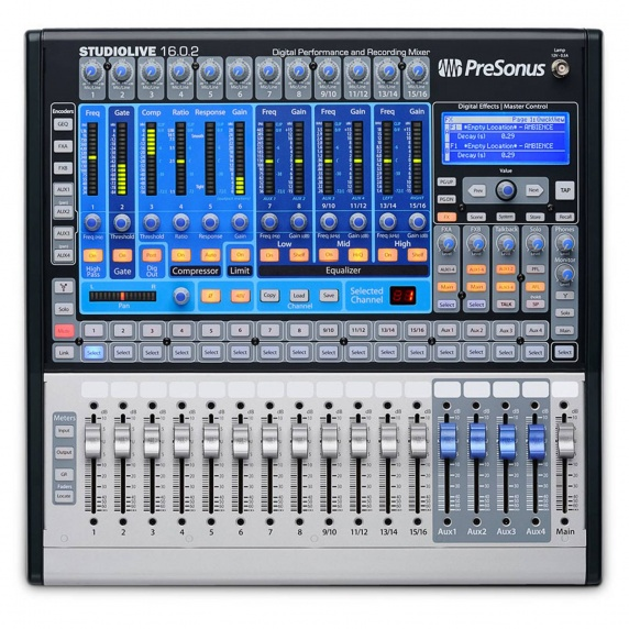 presonus studiolive 16 0 2 digital mixer presonus from inta audio uk. Black Bedroom Furniture Sets. Home Design Ideas