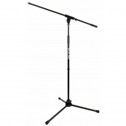 Pro Microphone Stand with Boom with cable clips