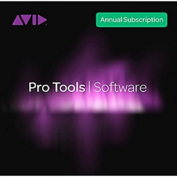 Pro Tools 2018.12 Annual Subscription (Boxed)
