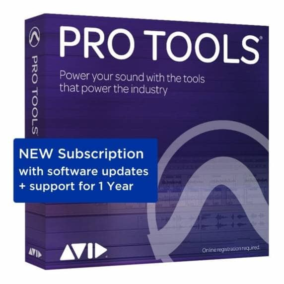 Pro Tools 2019 Annual Subscription (Boxed)
