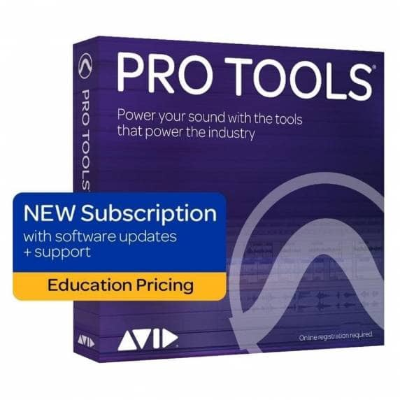 Pro Tools 2020 Annual Subscription Renewal EDUCATION (Serial Download)