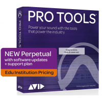 Avid Pro Tools 2020 Perpetual License with 1-Year Upgrade & Support Plan EDU (Serial Download)
