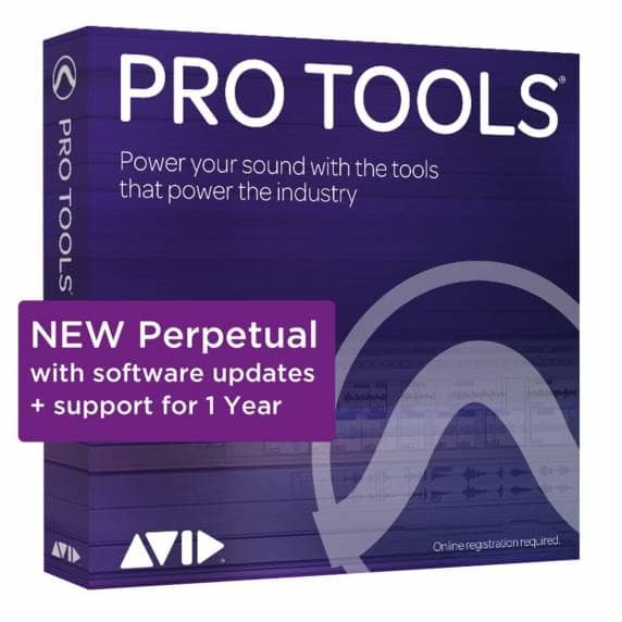 Pro Tools 2021 Perpetual License with Annual Upgrade Plan (Serial Download)