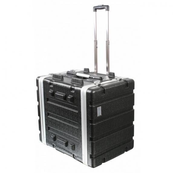 "Pulse ABS-8UTR 19"" 7U ABS Flight Case Trolley"