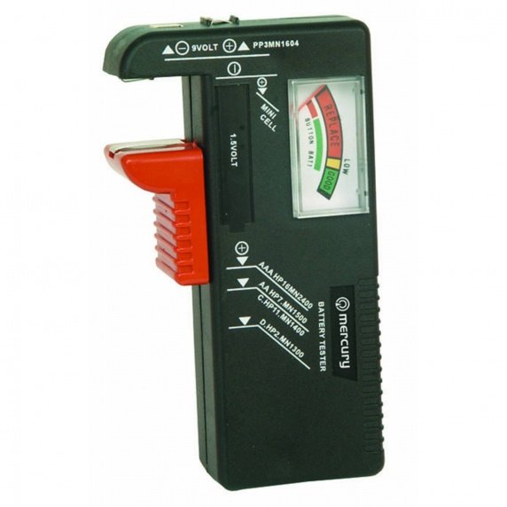 Universal Battery Tester/Checker AA, AAA, 9V