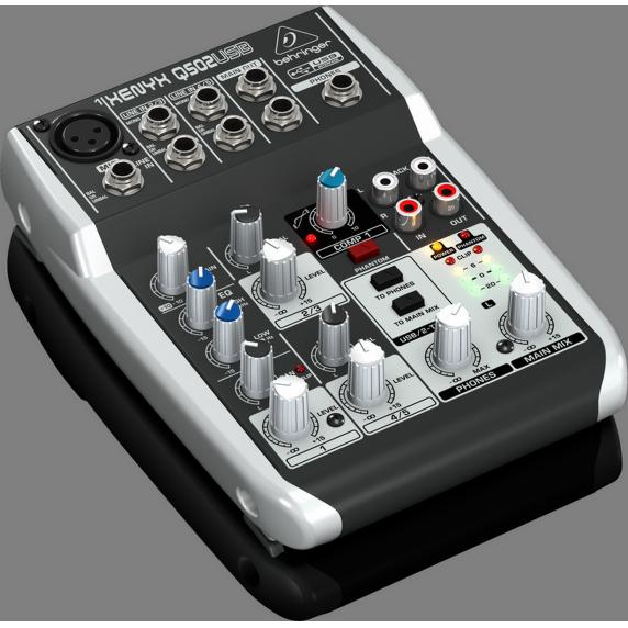 Behringer XENYX Q502USB Small Mixer